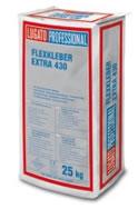 FLEXKLEBER EXTRA 430 für das hochflexible Kleben aller keramischen Fliesensorten